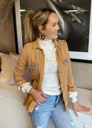TESS V Rosie jacket beige