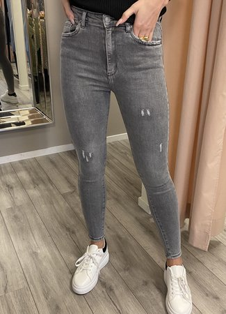 MISS Maaike jeans grey