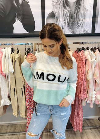 TESS V Amour sweater