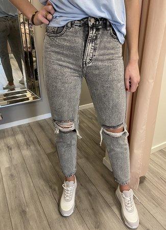 TESS V Mom jeans grey