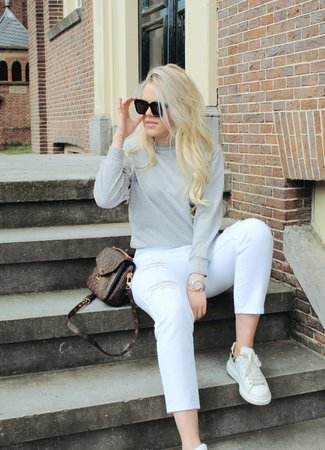 TESS V Lilou sweater grey