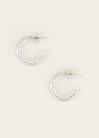 My Jewellery Kleine oorringetjes parels