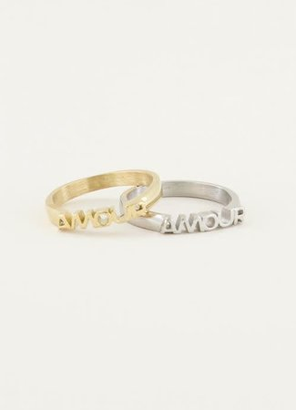 TESS V Amour ring