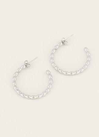My Jewellery Grote oorringen bolletjes