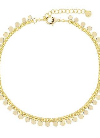 My Jewellery Enkelbandje muntjes goud
