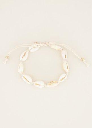 My Jewellery Armband schelpen