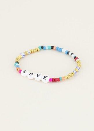 My Jewellery Armbandje kralen & love