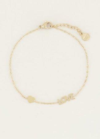 My Jewellery Armband Love