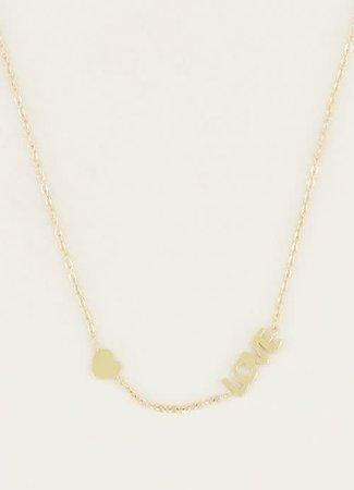 My Jewellery Ketting Love