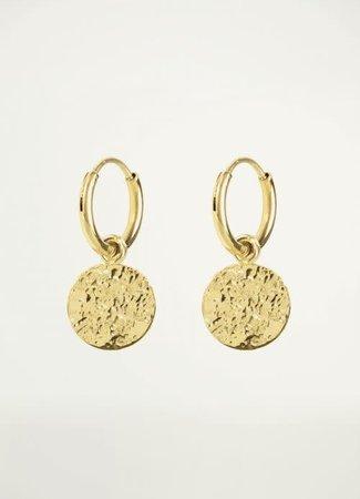 My Jewellery Oorringen bewerkte munt