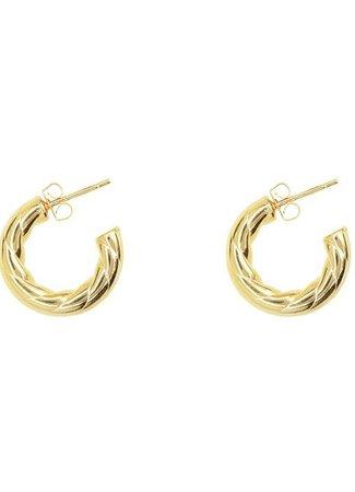 My Jewellery Oorringen open touwpatroon