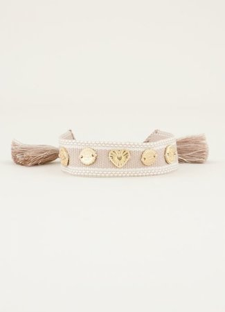 My Jewellery Bohemian armband beige