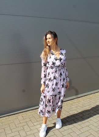 Loua maxi dress lila