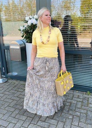 Ambika Willemijn top geel