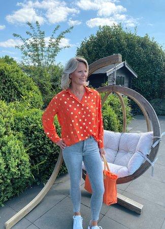 TESS V Sara blouse orange