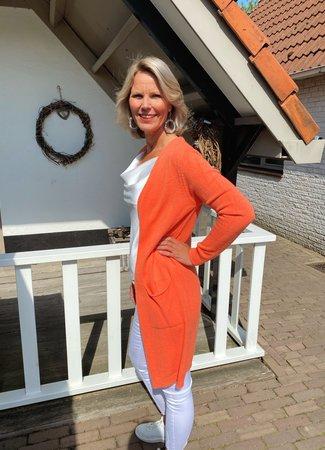 TESS V Evelien vest oranje