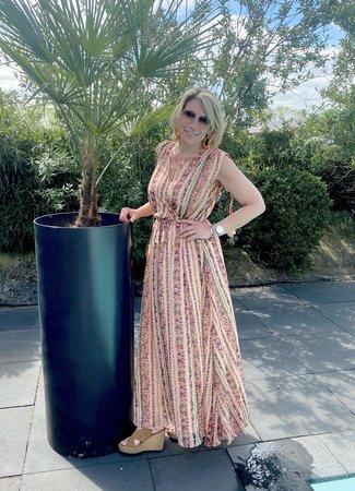 TESS V Lotte dress beige