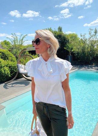 TESS V Rosanne blouse white