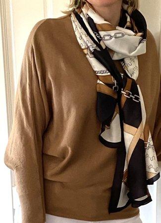 TESS V Lotte sjaal black