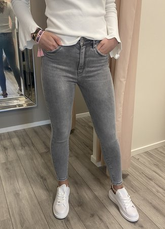 MISS Liv jeans grey