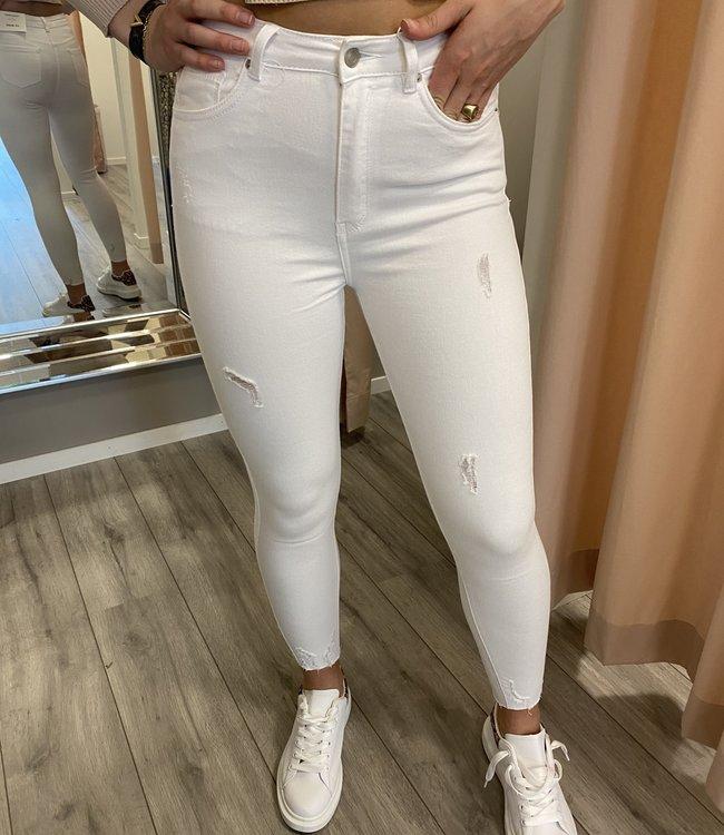 MISS Julia jeans white