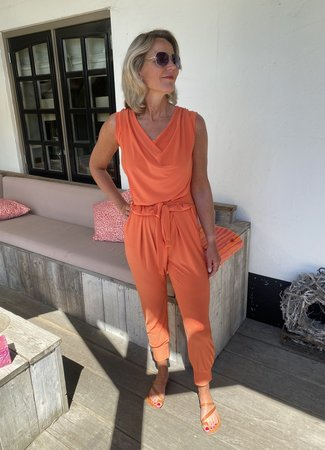 Caroline jumpsuit orange