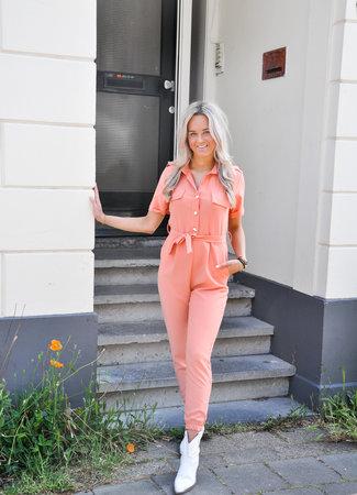 TESS V Fem jumpsuit orange