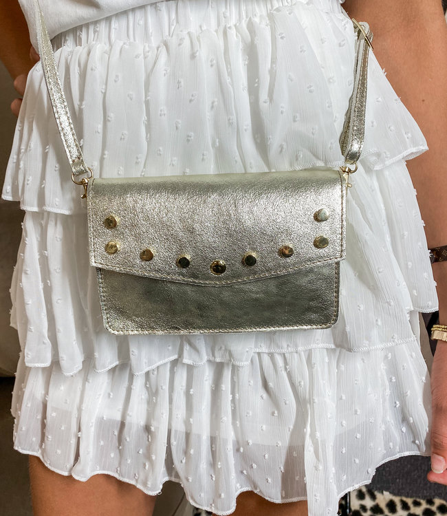 TESS V Laura bag gold