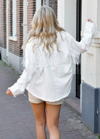 TESS V Lucia jacket white