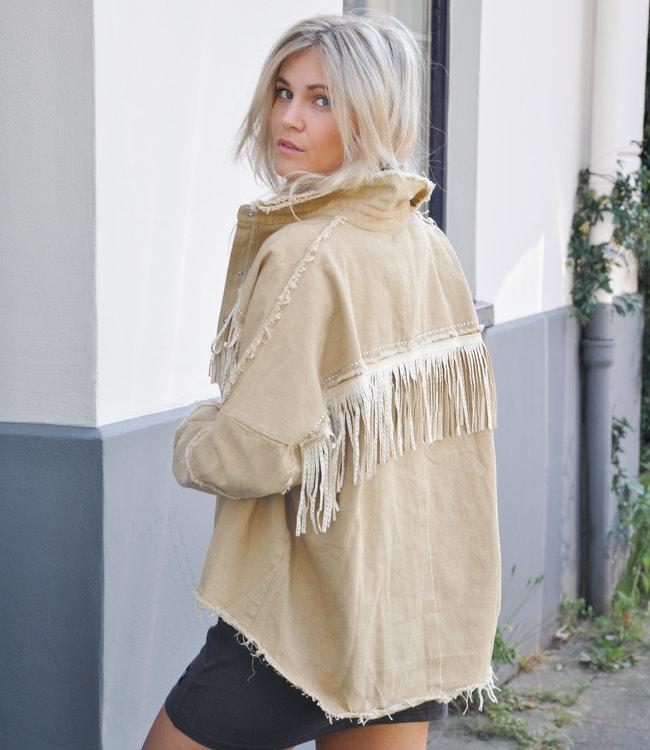 TESS V Lucia jacket beige