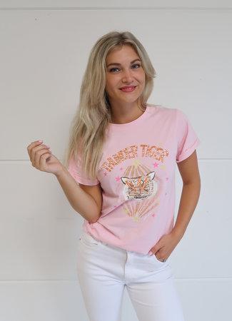 Ambika Thunder tiger tee pink