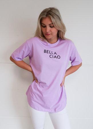 TESS V Ciao bella tee lila
