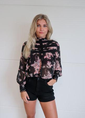 TESS V Lieke blouse flower