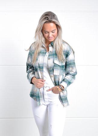 TESS V Renee blouse green