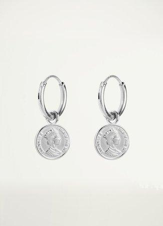 My Jewellery Oorbellen fijn muntje