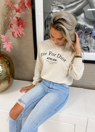TESS V Atelier sweater beige