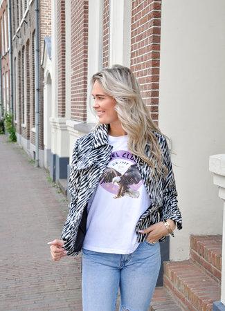 TESS V Lio zebra jacket