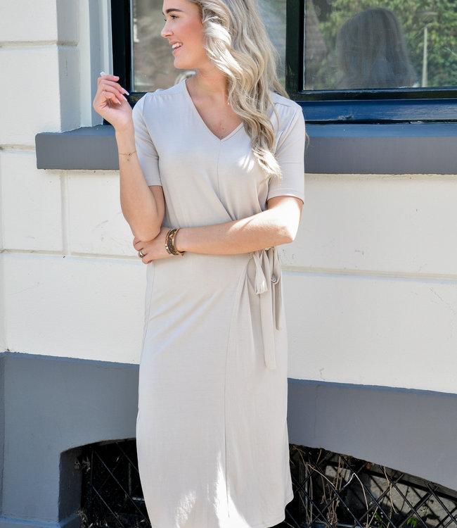 Ambika Beau dress beige