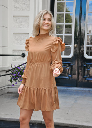 Calie dress brown
