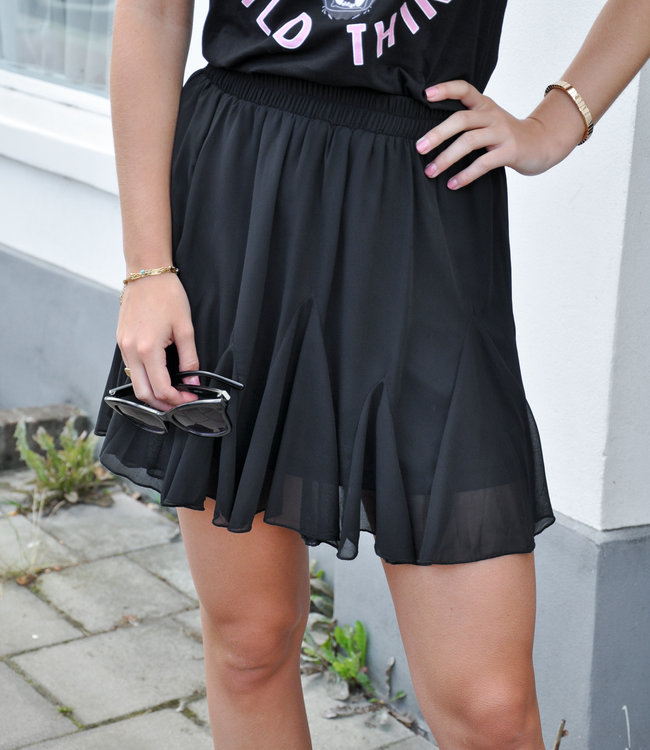 TESS V Dian skirt black