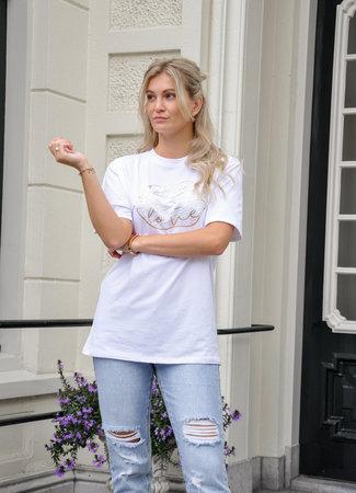 TESS V Jasmine shirt white
