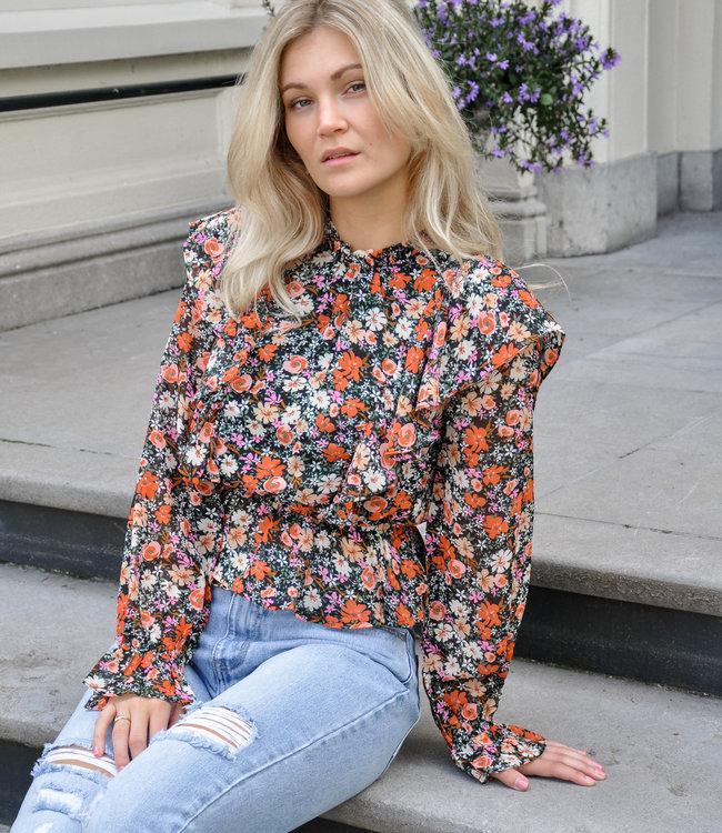 TESS V Rozie blouse black