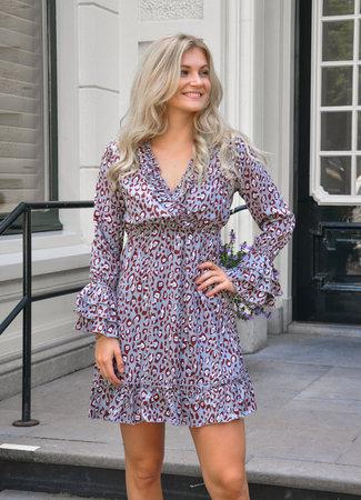 TESS V Zoeva dress leo