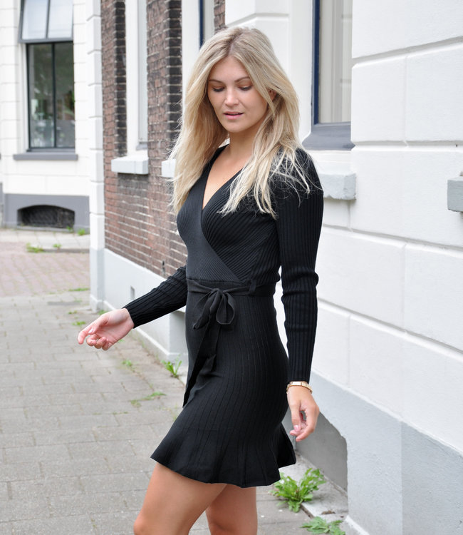 TESS V Merel dress black