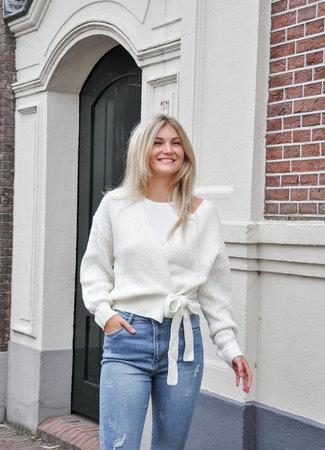 TESS V Wikkel vest white