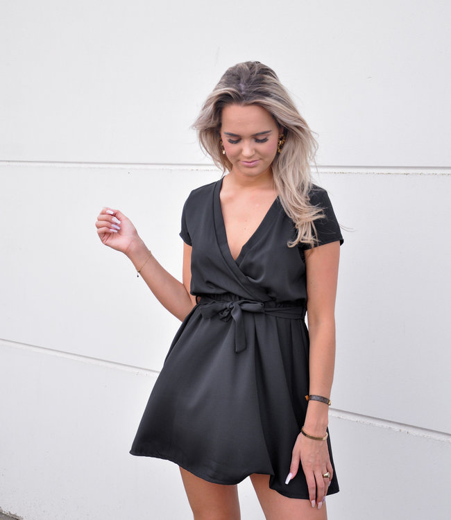 TESS V Bobbie dress black