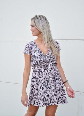 TESS V Bobbie dress dotted pink