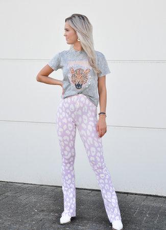 Dominique flared pants dalmi lila