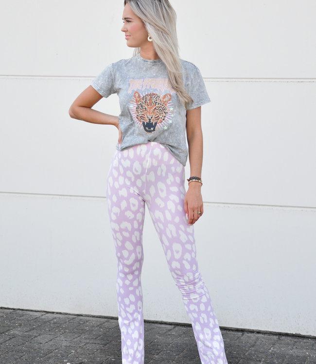 Ambika Dominique flared pants dalmi lila
