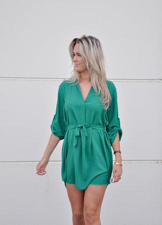 TESS V Hella dress green